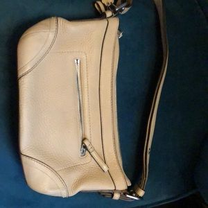 Coach small bucket with adjustable strap